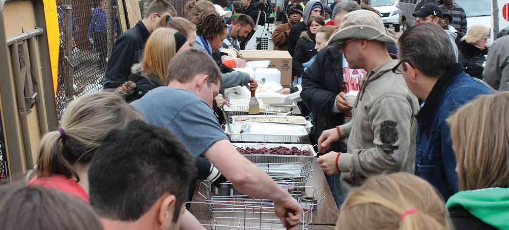 Operation Drumstick (Thanksgiving Outreach)